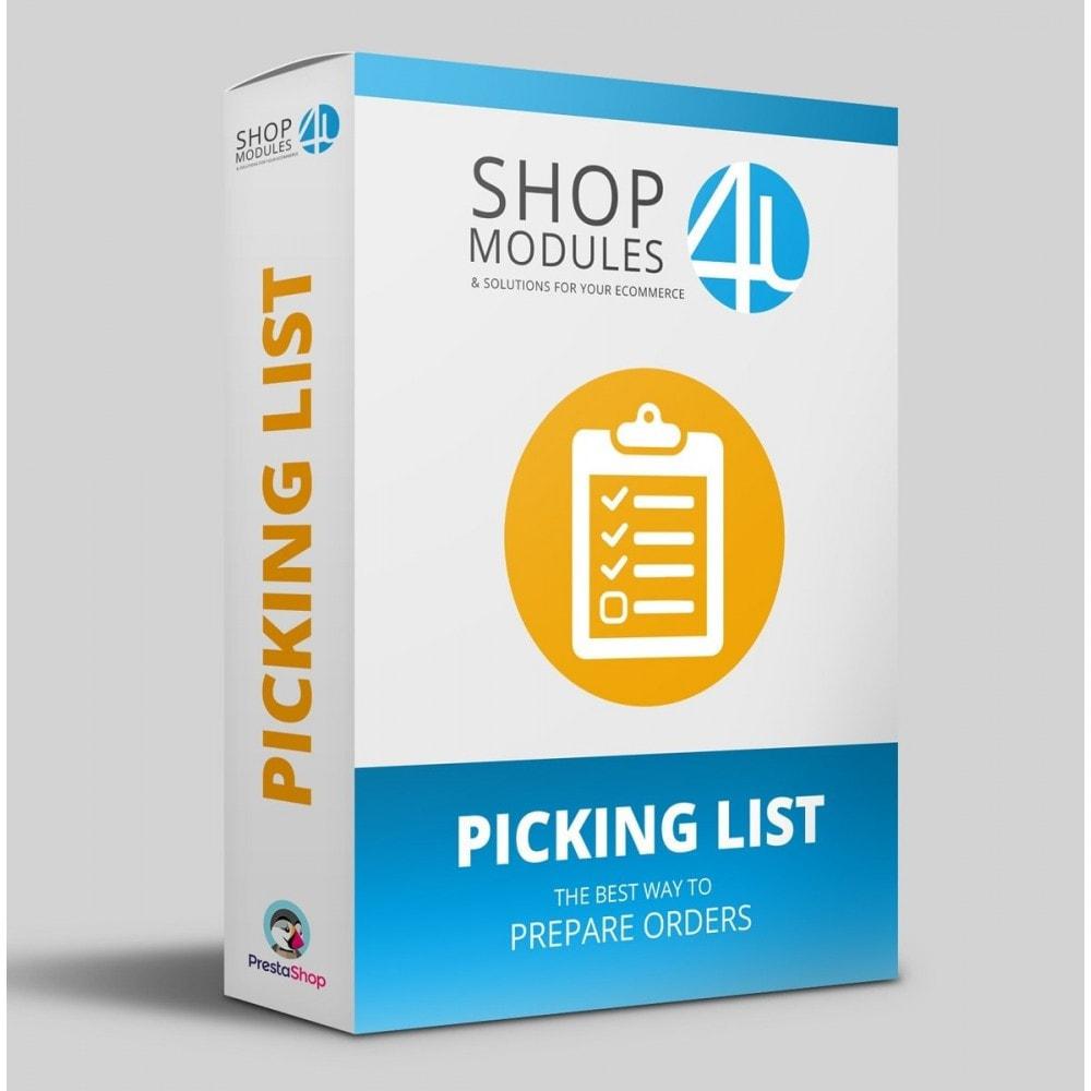 module - Preparação & Remessa - Encomendas pendentes (Lista de pedidos) - 1