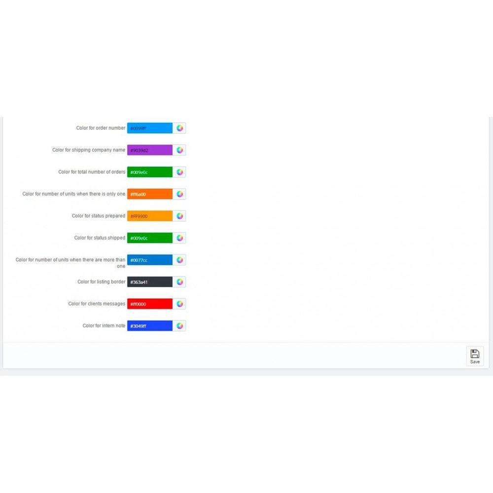 module - Preparação & Remessa - Encomendas pendentes (Lista de pedidos) - 2