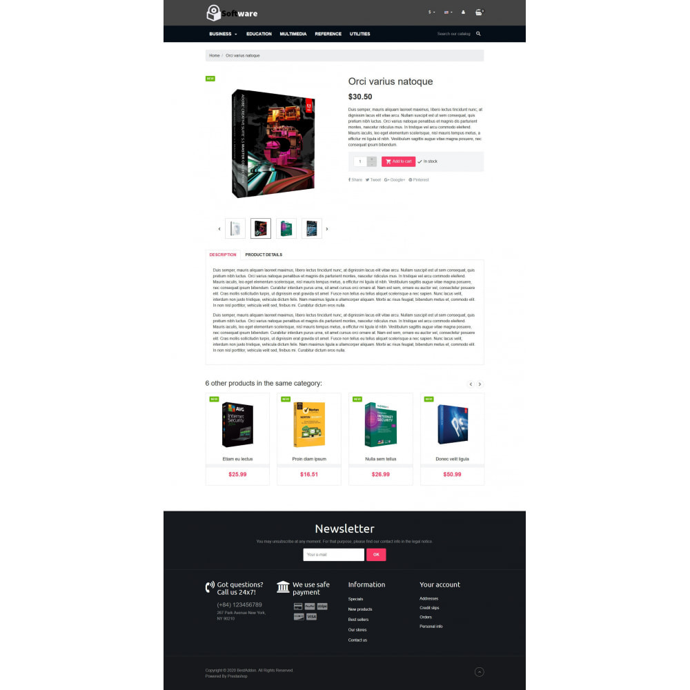 theme - Elettronica & High Tech - VP_Software - Page Builder - 4