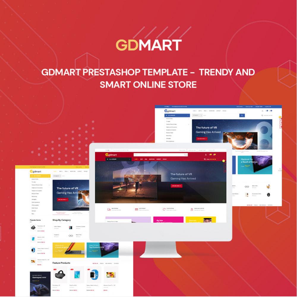 theme - Elettronica & High Tech - Leo Gdmart - Electronic & Supermartket Store - 1