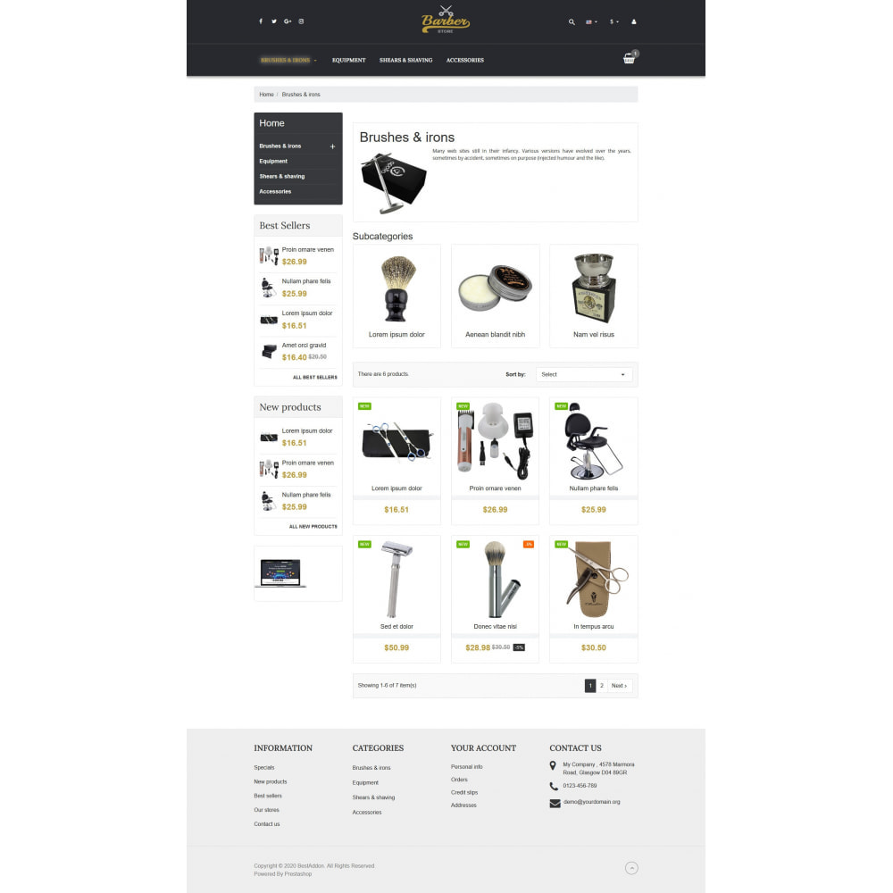 theme - Jewelry & Accessories - VP_Barber - Page Builder - 3