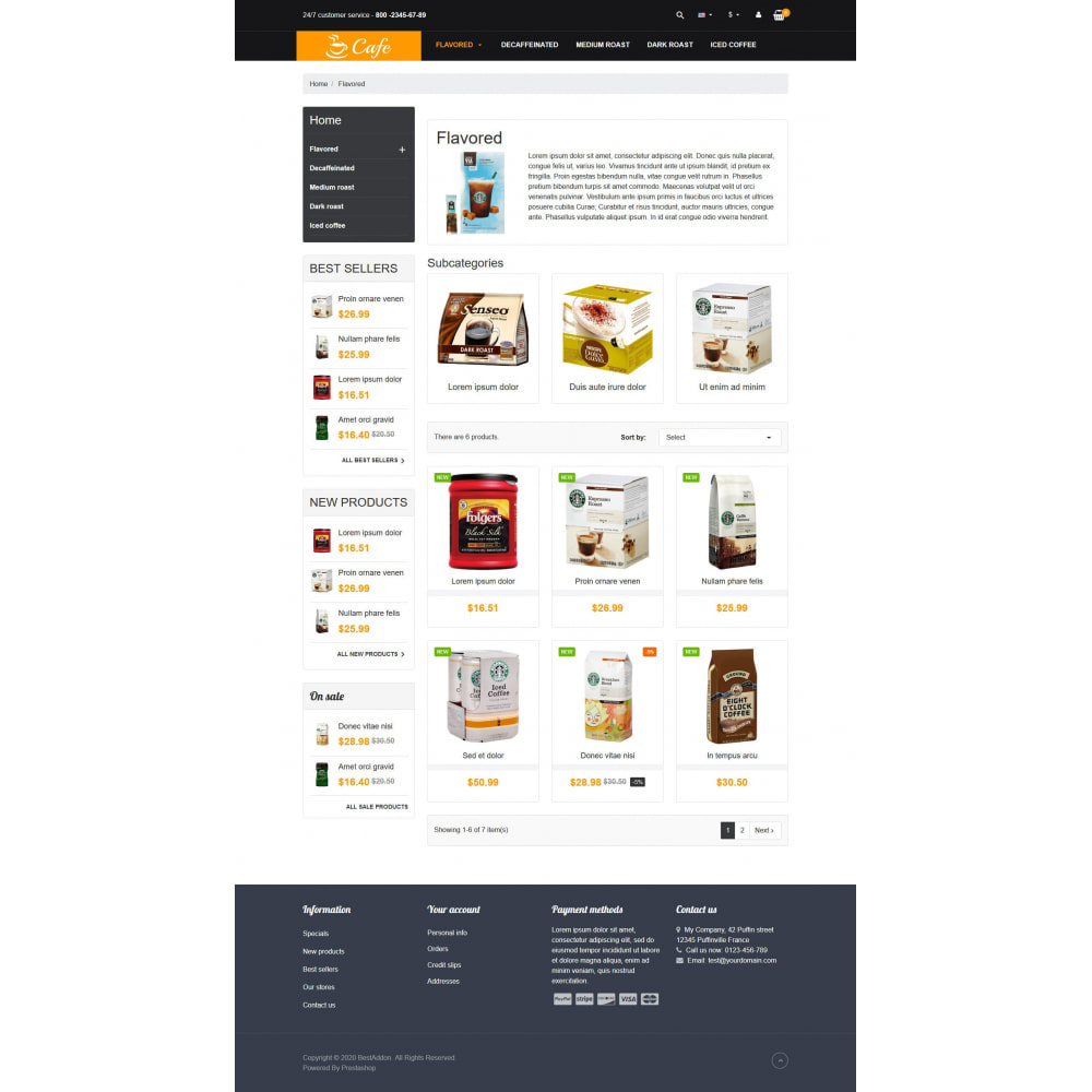 theme - Drink & Tobacco - VP_Cafe - Page Builder - 3