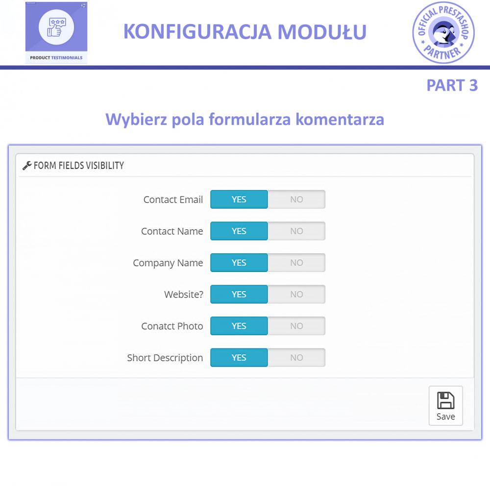 module - Opinie klientów - Recenzje Klientów + Referencje Sklepu - 10