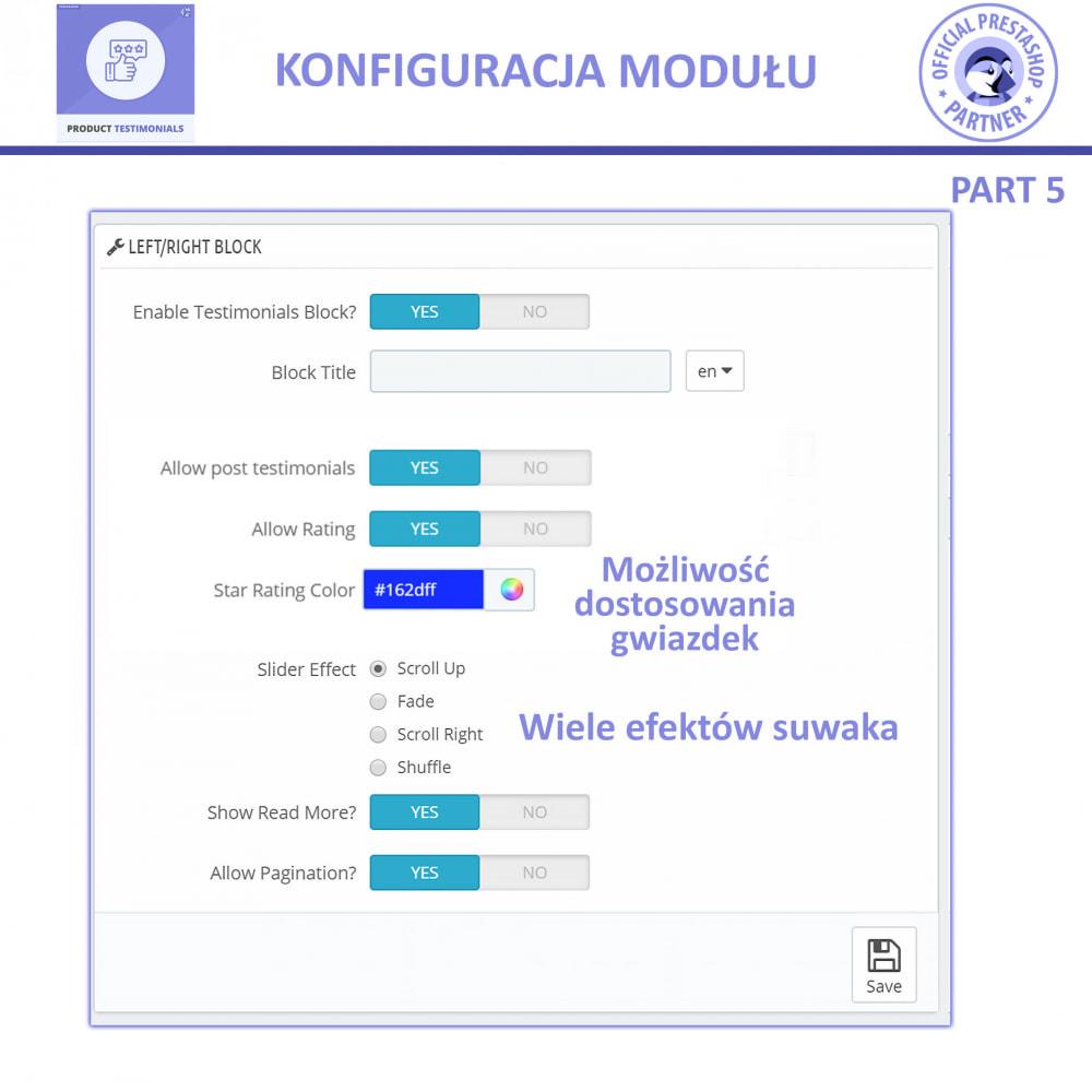 module - Opinie klientów - Recenzje Klientów + Referencje Sklepu - 12