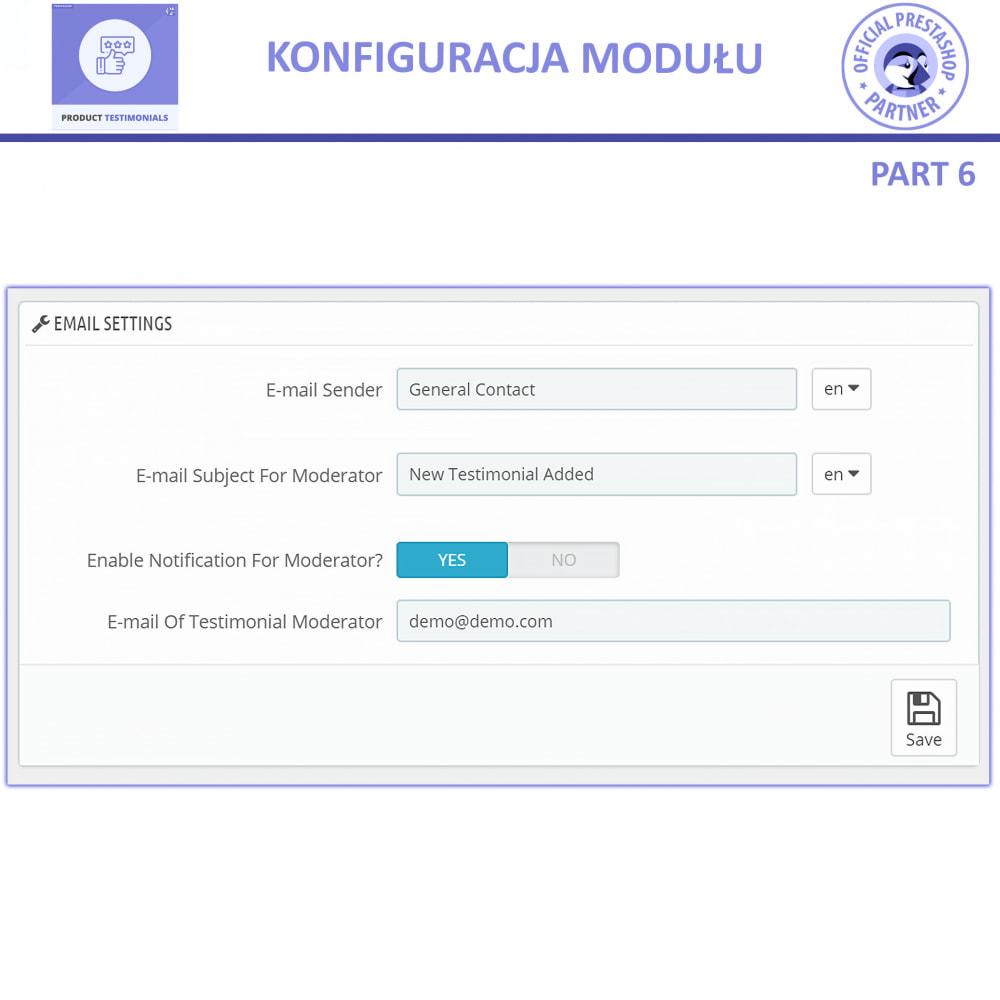 module - Opinie klientów - Recenzje Klientów + Referencje Sklepu - 13