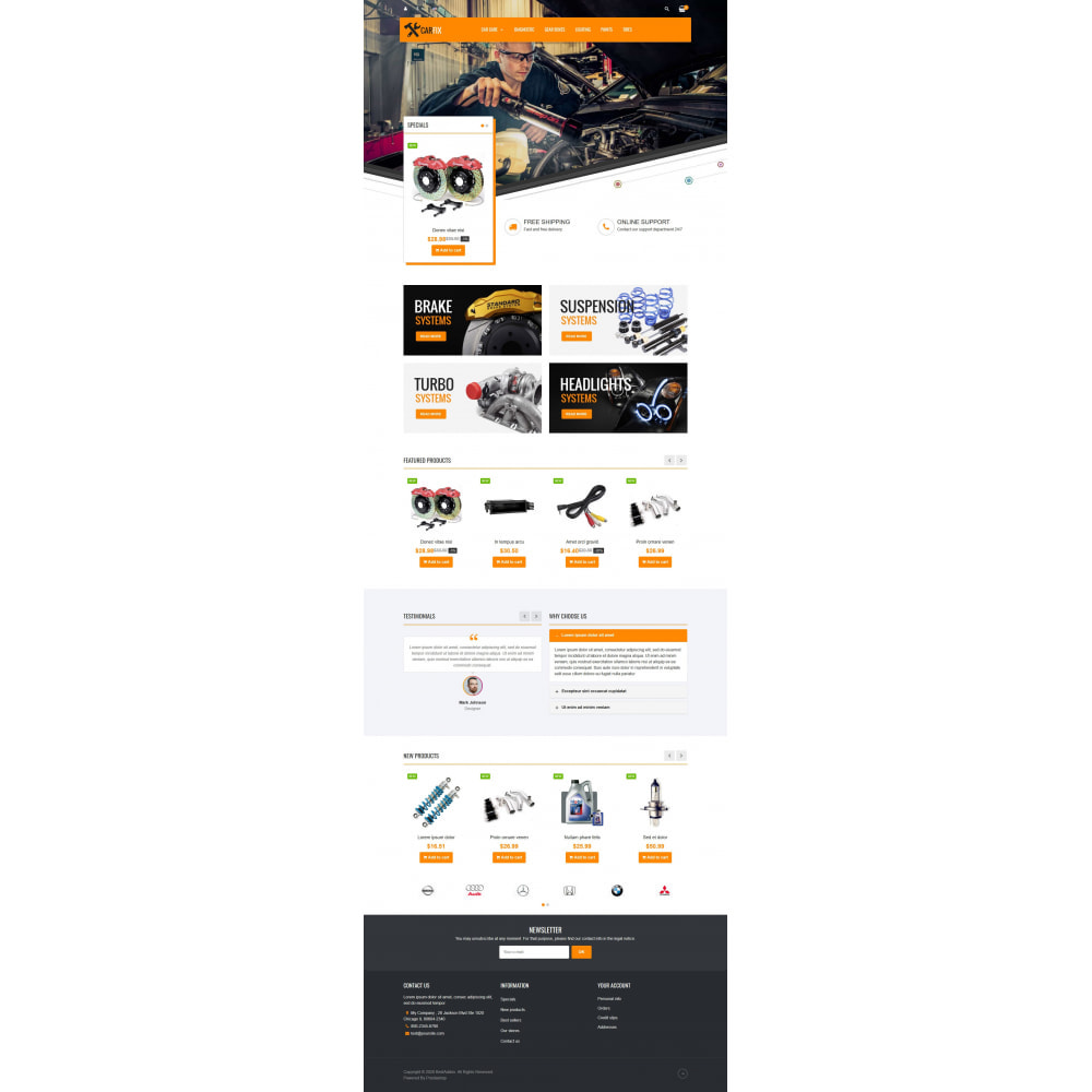 theme - Coches y Motos - VP_CarFix - Page Builder - 2