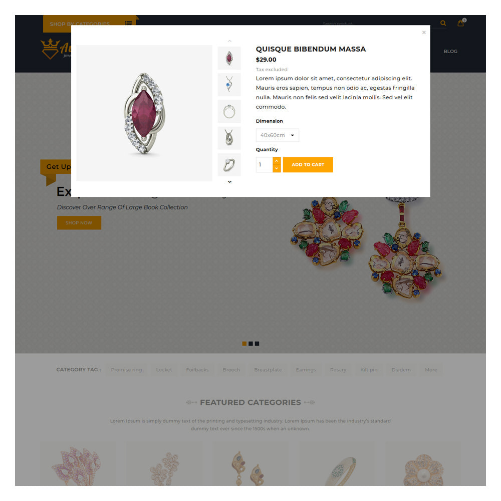 theme - Jewelry & Accessories - Aure Jewelry & Accessories Shop - 9
