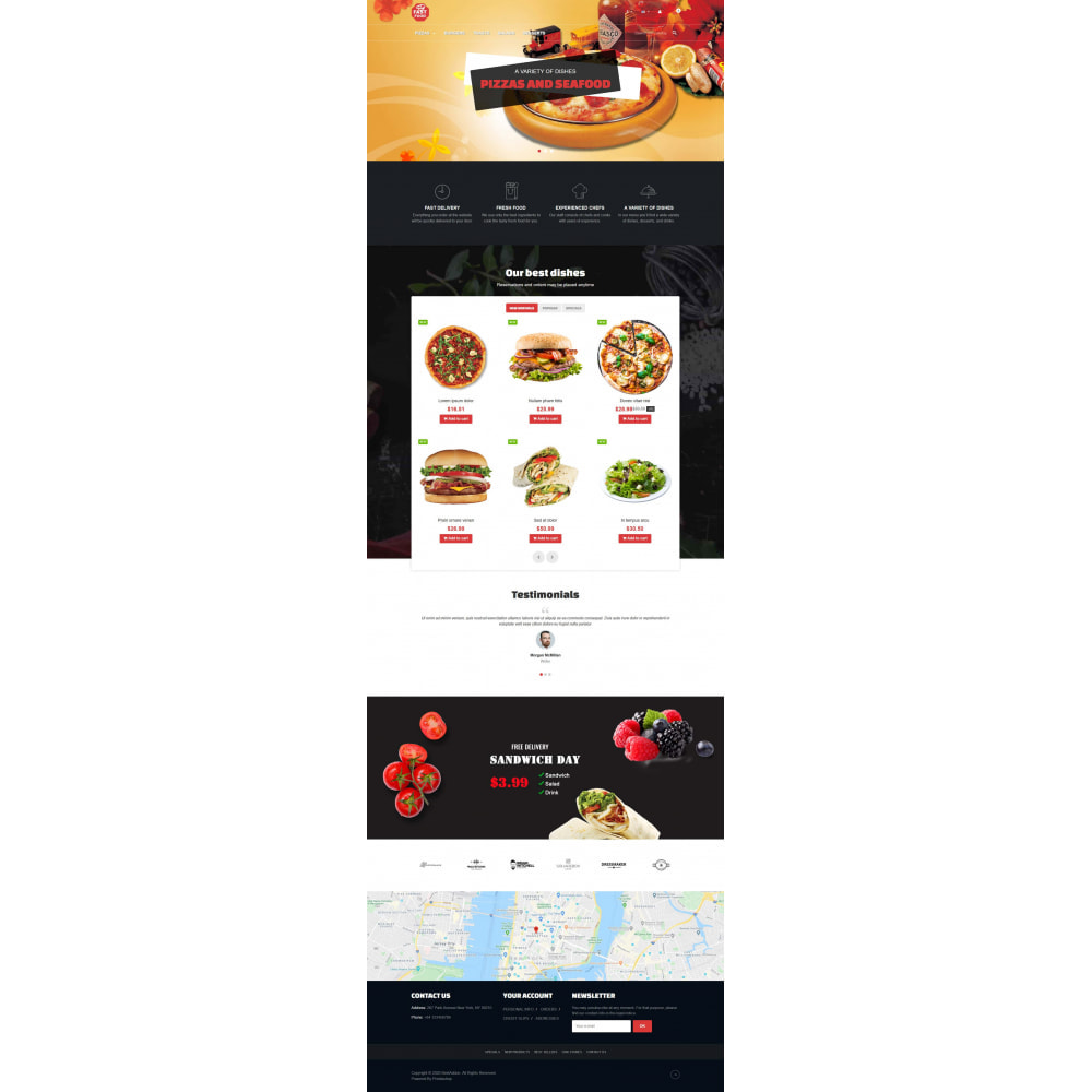 theme - Food & Restaurant - VP_Fastfood - Page Builder - 2