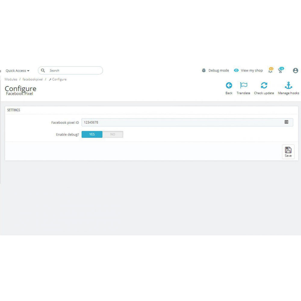 module - Analytics & Statistics - social network pixel full - 2