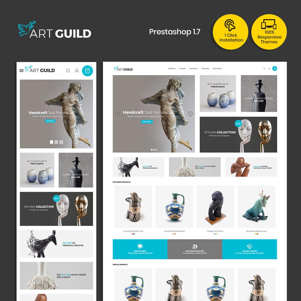 theme - Arte y Cultura - Art Guild Handcraft - Tienda de pintura - 2