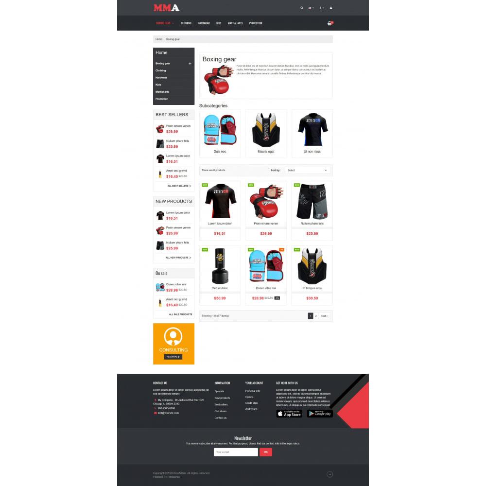 theme - Deportes, Actividades y Viajes - VP_MMA - Page Builder - 3