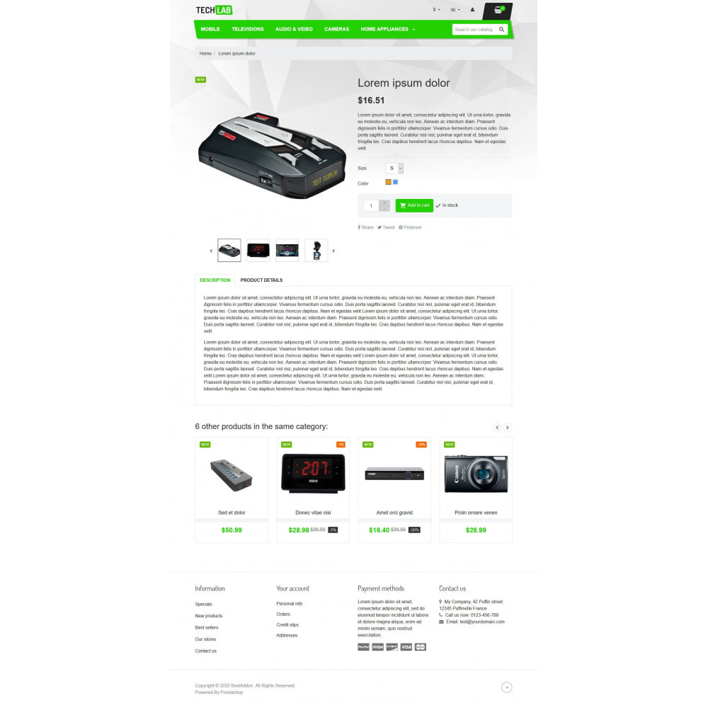 theme - Electronics & Computers - VP_Techlab - Page Builder - 4