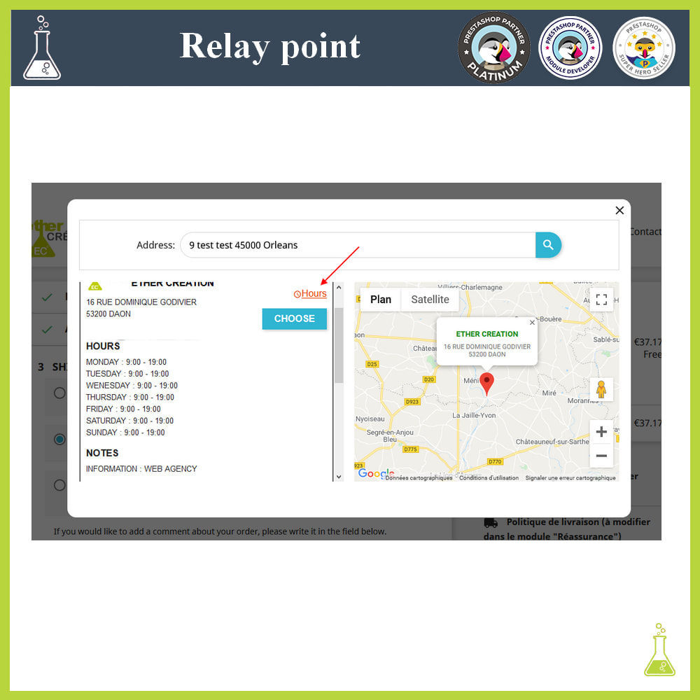 module - Abholstationen & Selbstabholer - Manage your relay points - 4
