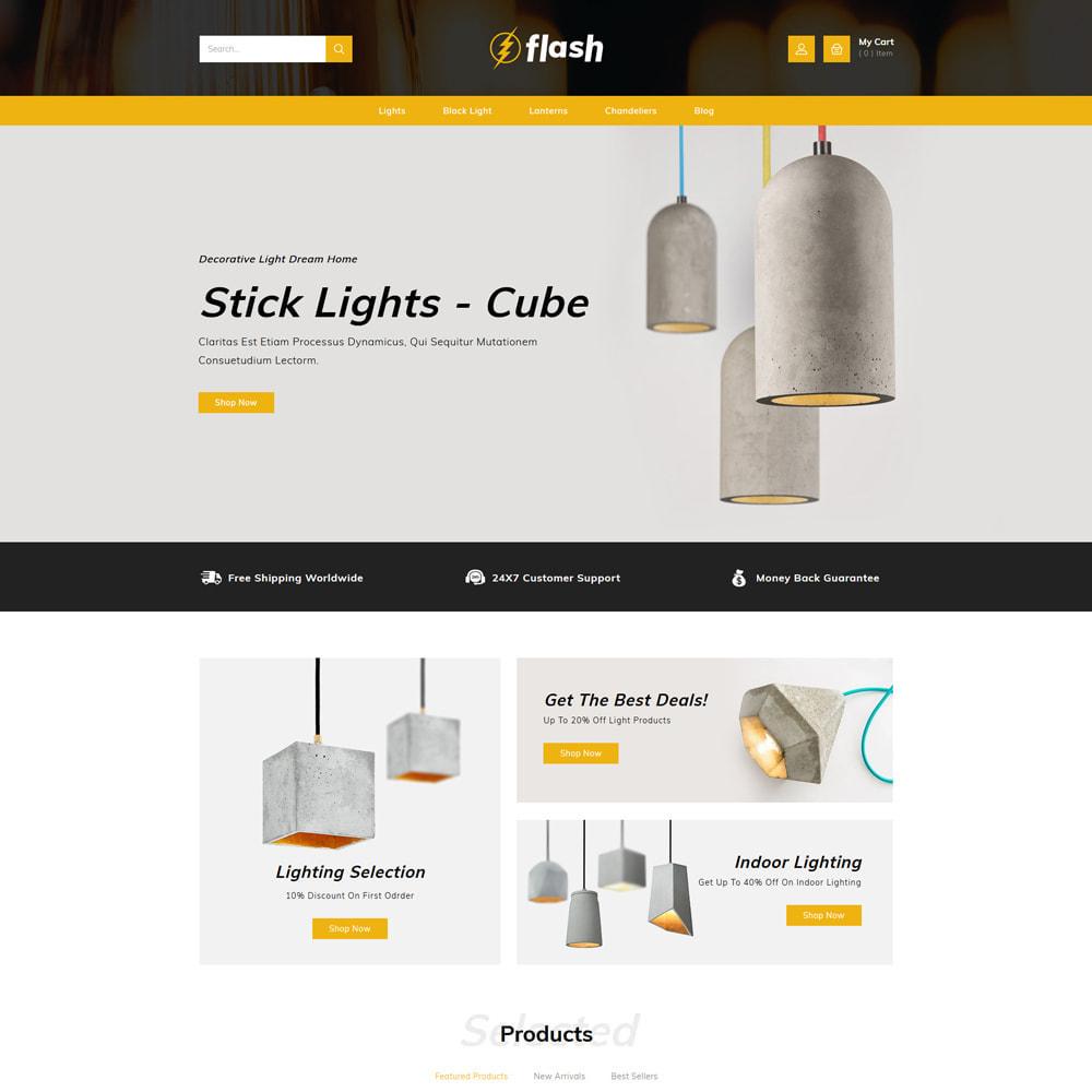 theme - Casa & Giardino - Flash - Home Decor Light Store - 2
