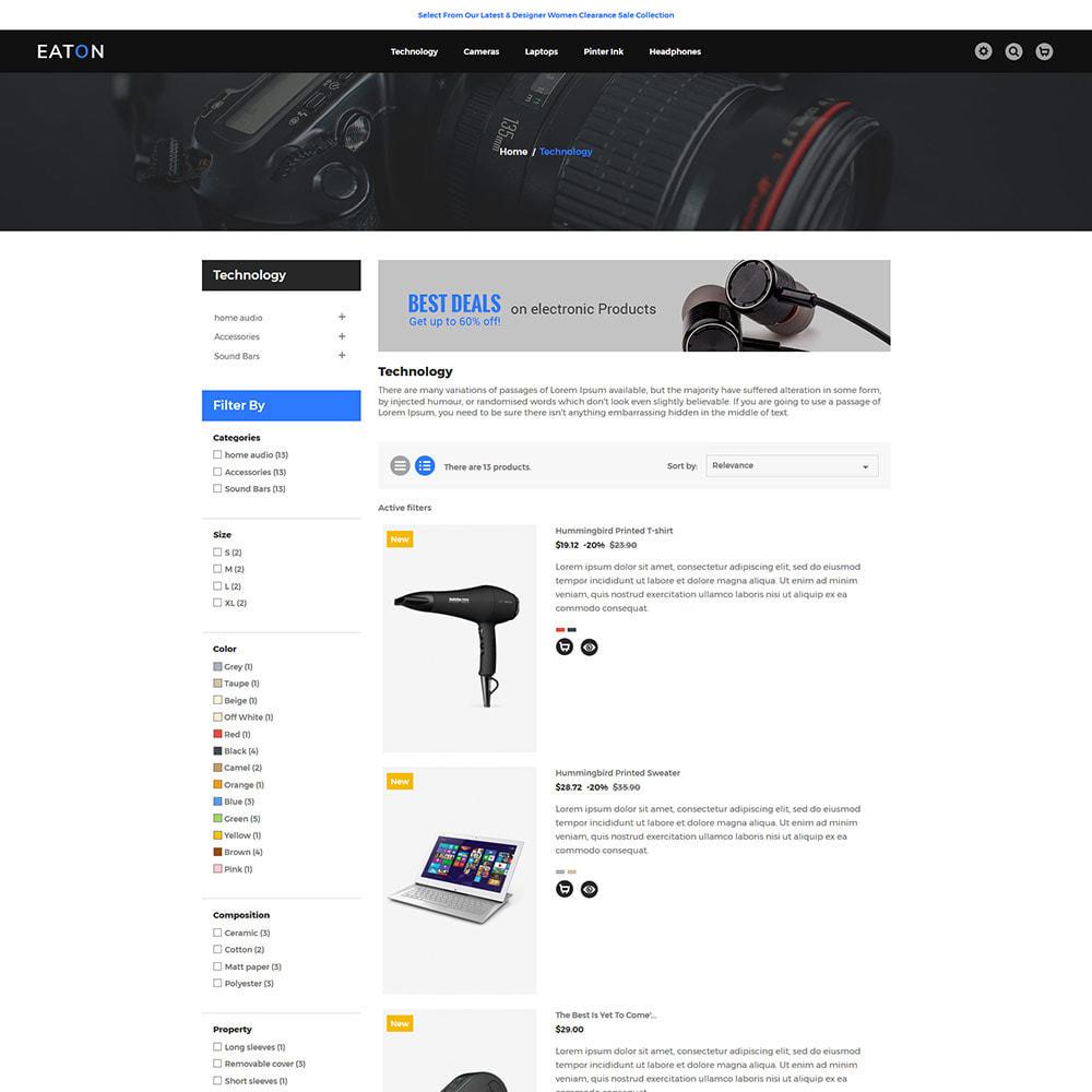 theme - Electrónica e High Tech - Mobile - Magasin de drones numériques informatiques - 5