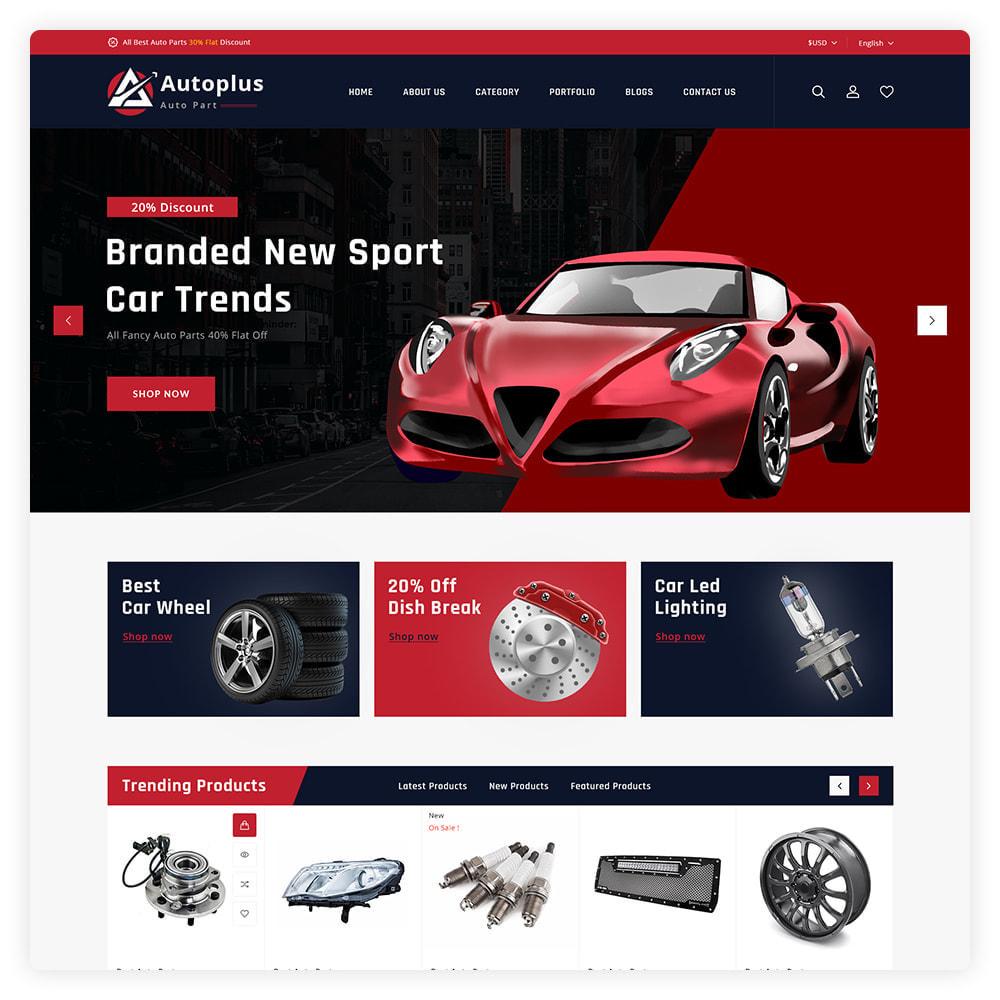 theme - Automotive & Cars - AutoPlus Autopart Store - 2