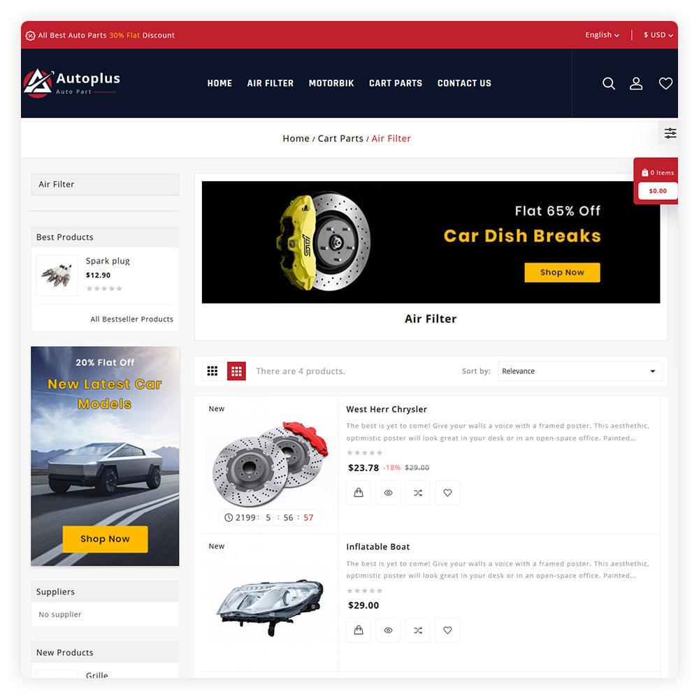 theme - Automotive & Cars - AutoPlus Autopart Store - 4