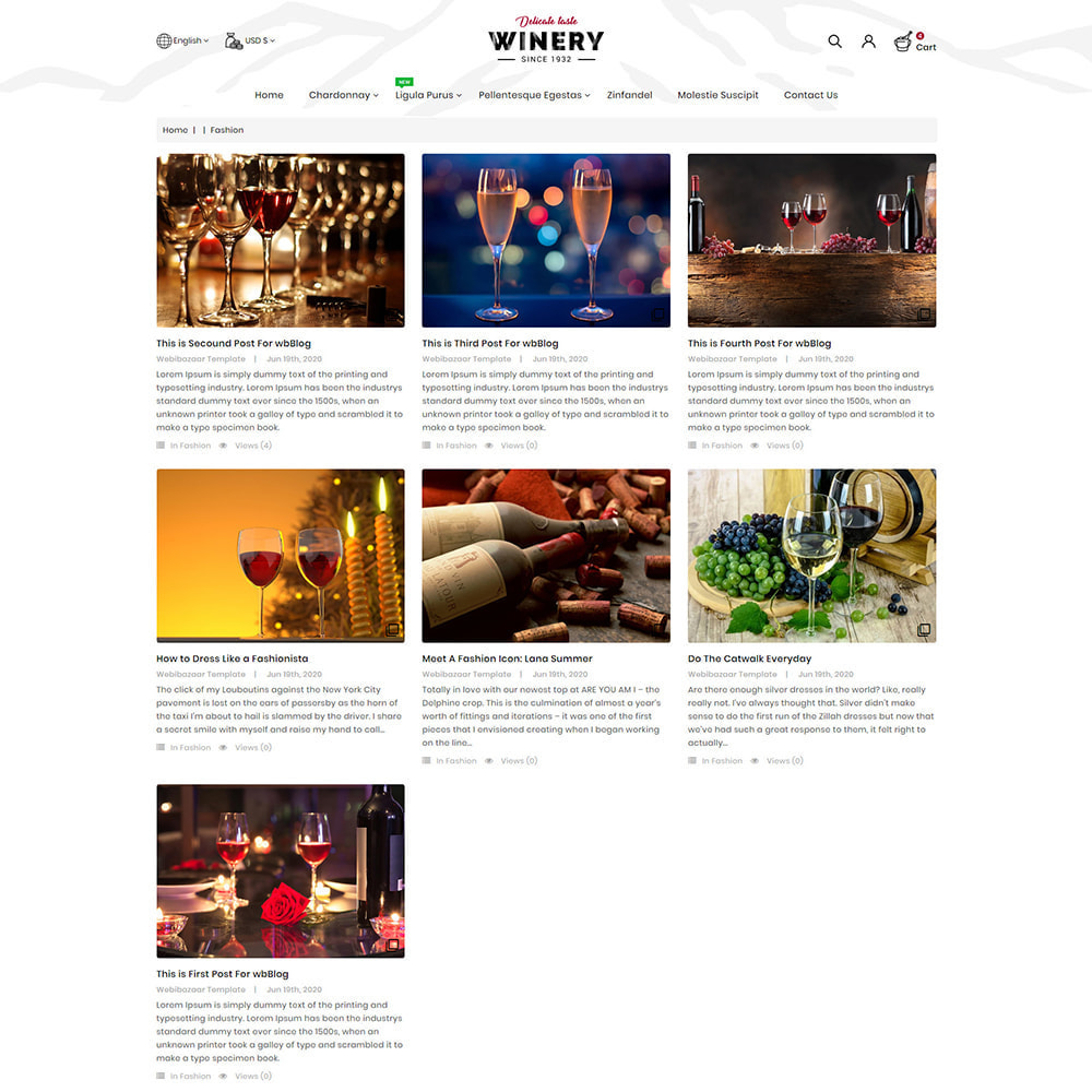 theme - Drink & Wine - Winery - Beer & Wine Store - 9