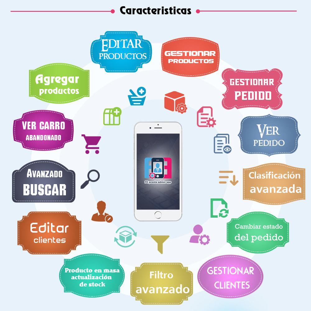 module - Dispositivos móviles - FE Presta Admin App - fácil a gestionar Tienda admin - 1