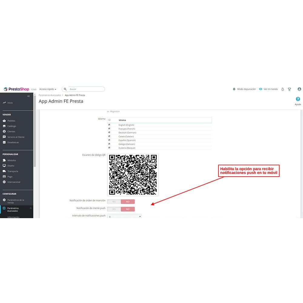 module - Dispositivos móviles - FE Presta Admin App - fácil a gestionar Tienda admin - 6