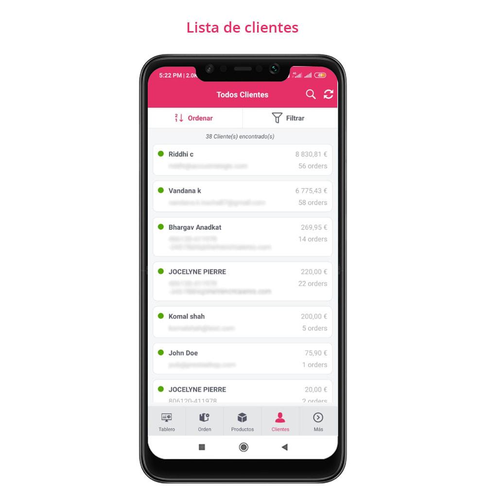 module - Dispositivos móviles - FE Presta Admin App - fácil a gestionar Tienda admin - 13