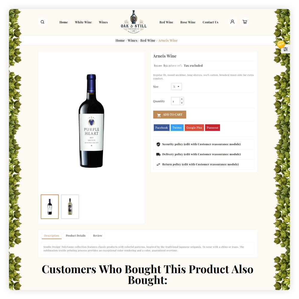 theme - Drink & Wine - OAK & Still Wine Shop - 5