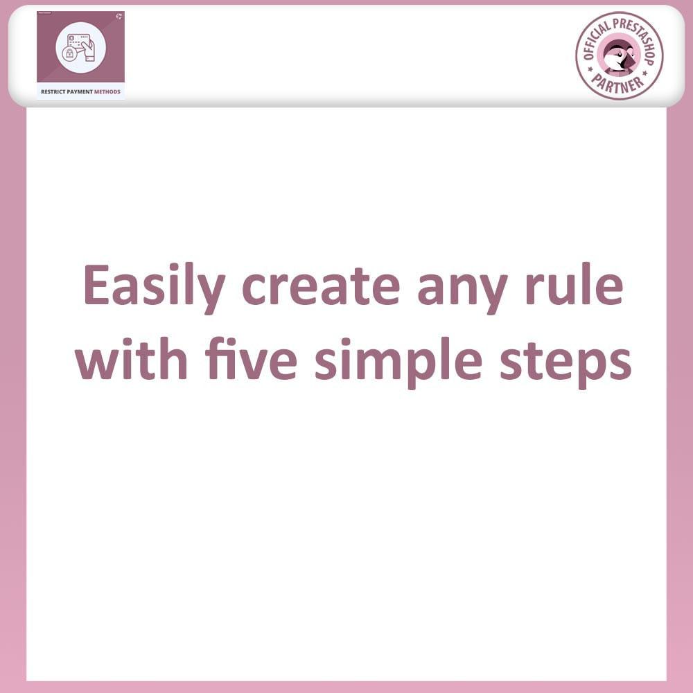 module - Formas de Pagamento Alternativas - Restrict Payment Methods by Category, Product & Cart - 4