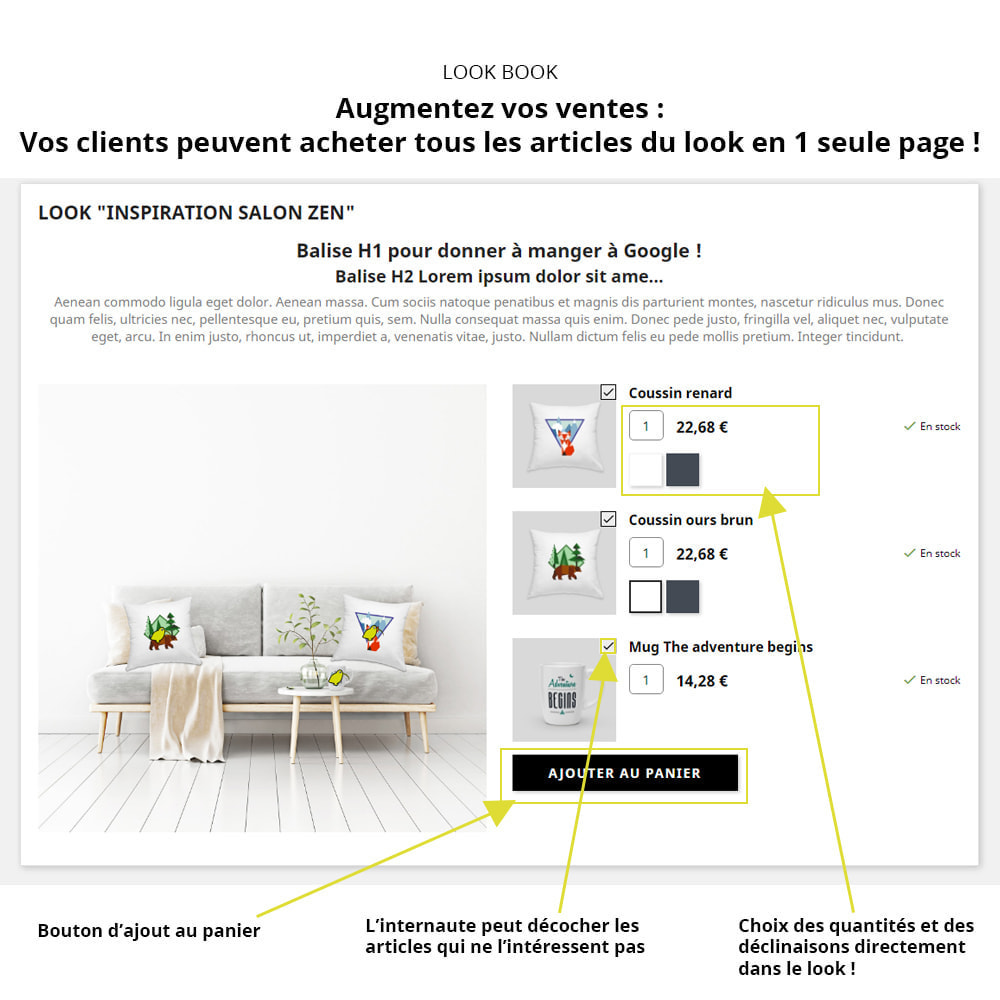 module - Fotos de productos - Lookbook  - Products showcase - 2