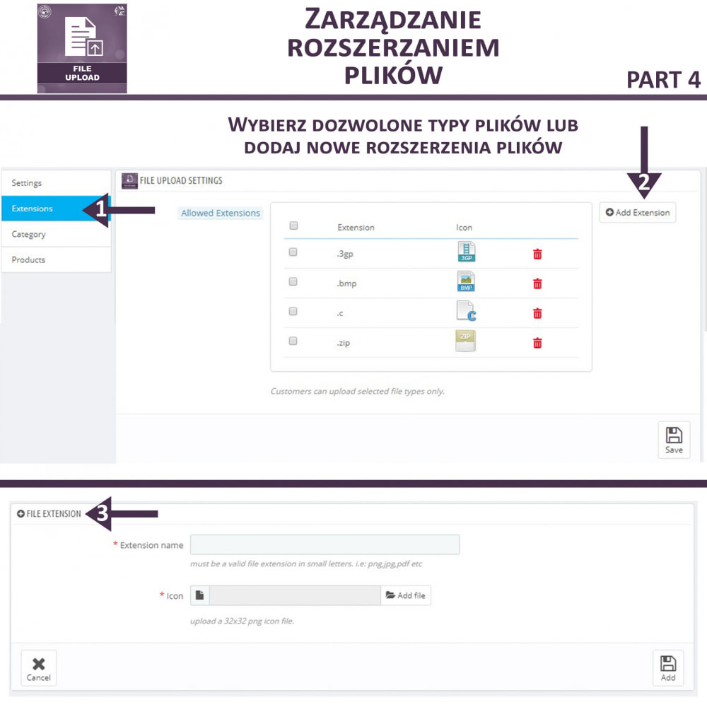 module - Dodatkowe informacje & Zakładka produktu - Przesyłanie Pliku Przez Klienta z Produktu, Cart - 11