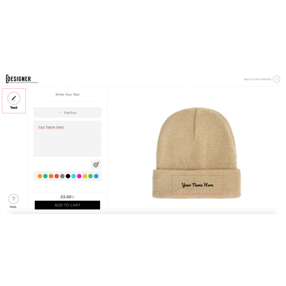 module - Bundels & Personalisierung - Product Customization Designer - Custom Product Design - 7