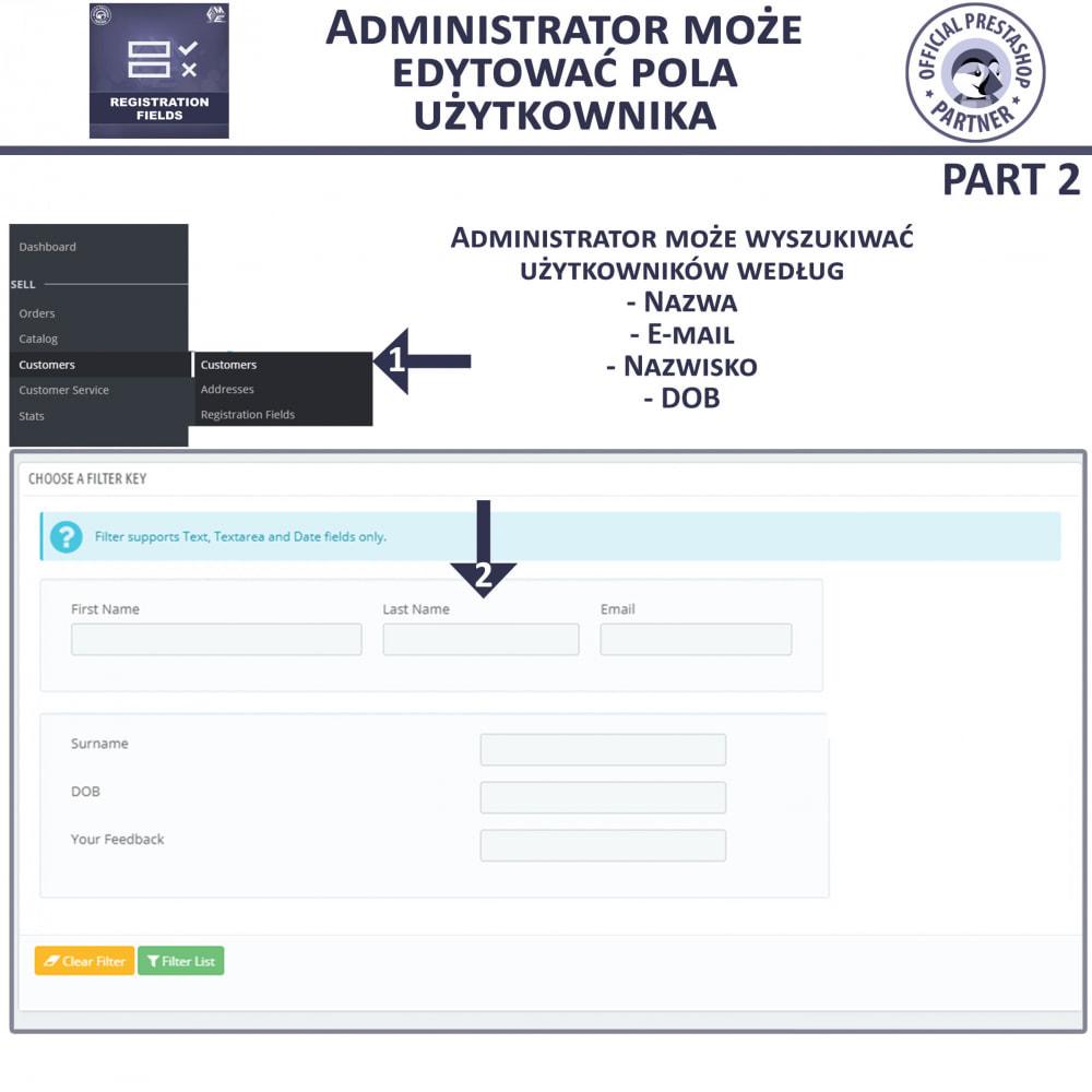 module - Procedury składania zamówień - Niestandardowe Pola Rejestracyjne - 8