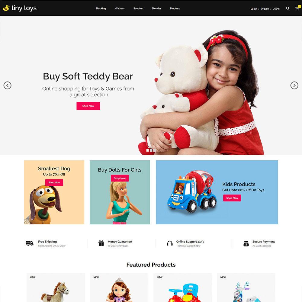 theme - Bambini & Giocattoli - Tuny Baby Kids - Negozio di giocattoli - 3