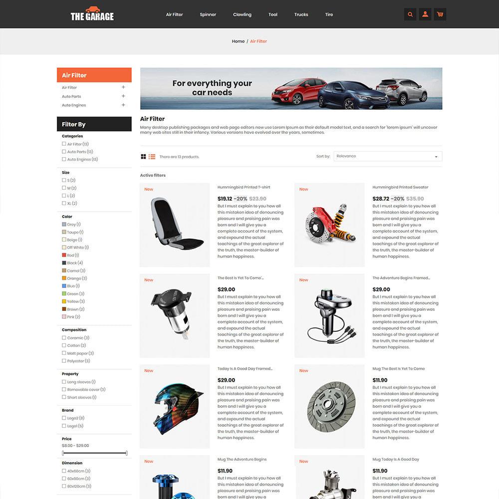 theme - Auto & Moto - The Garage Car - Auto Store - 5