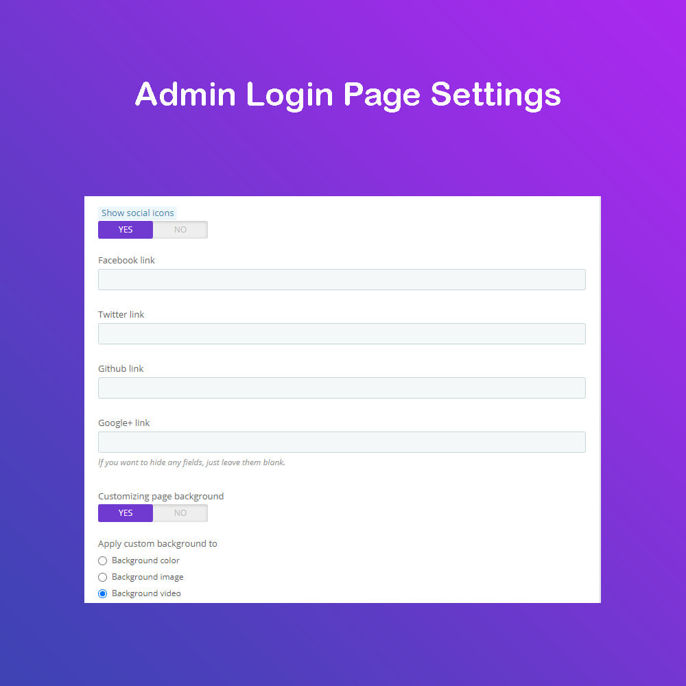 module - Dashboard - Customize The Admin Page PRO - 4