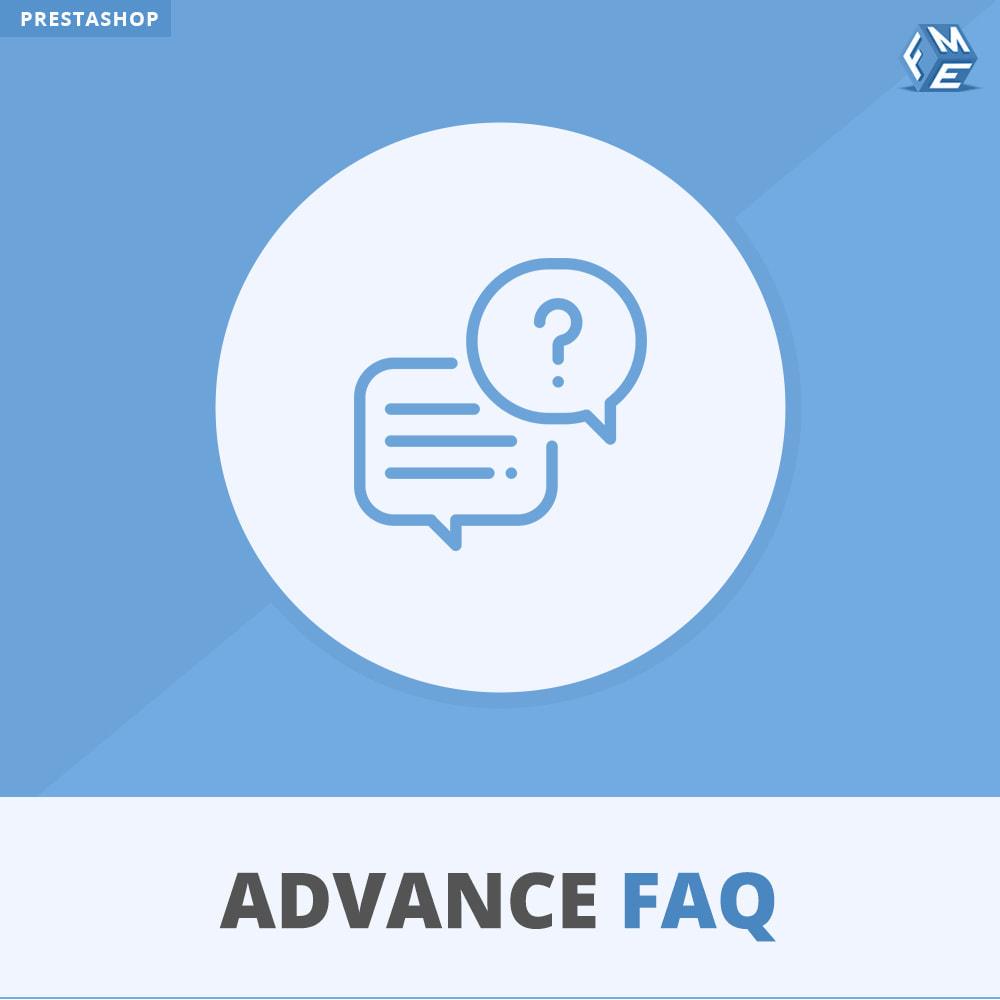 module - FAQ (questions fréquentes) - FAQ Avancée - 1