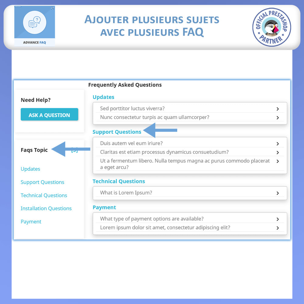 module - FAQ (questions fréquentes) - FAQ Avancée - 4