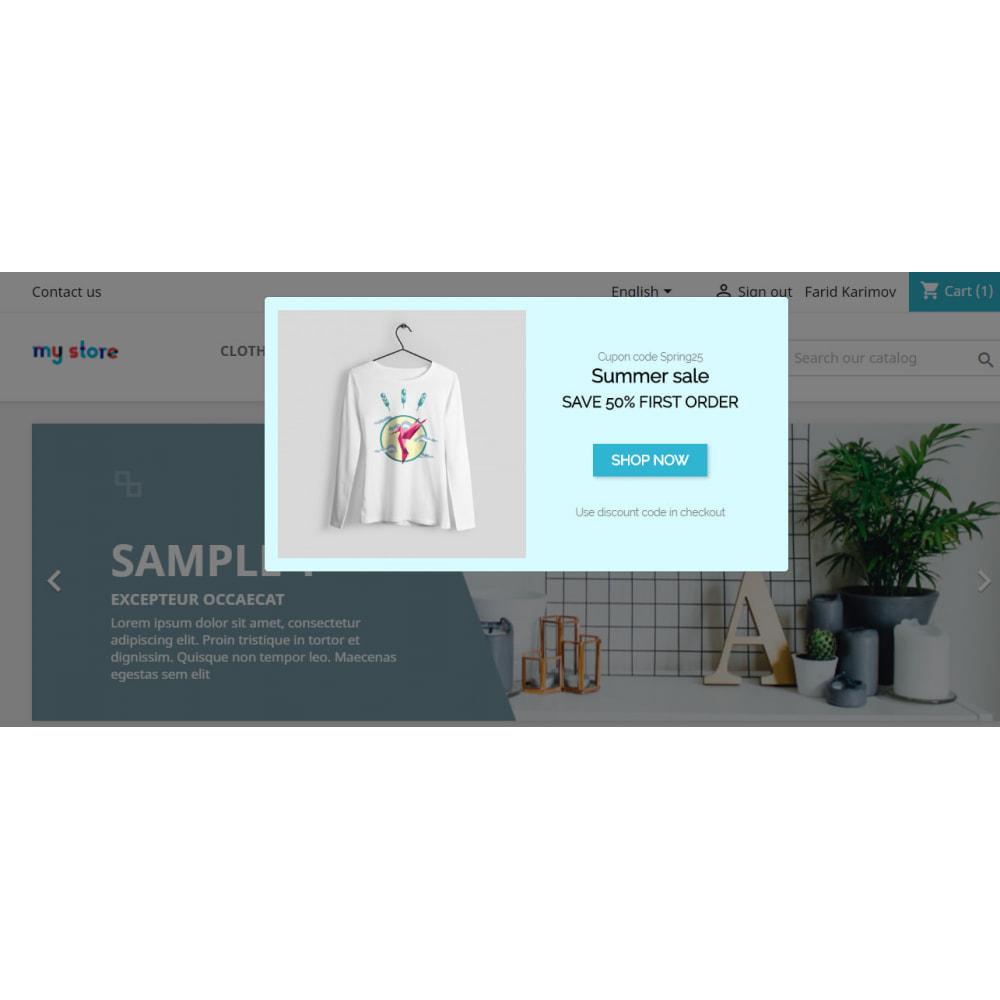 module - Prices & Promotion - Promo Modal | Live Sales Popup Module Pro - 3