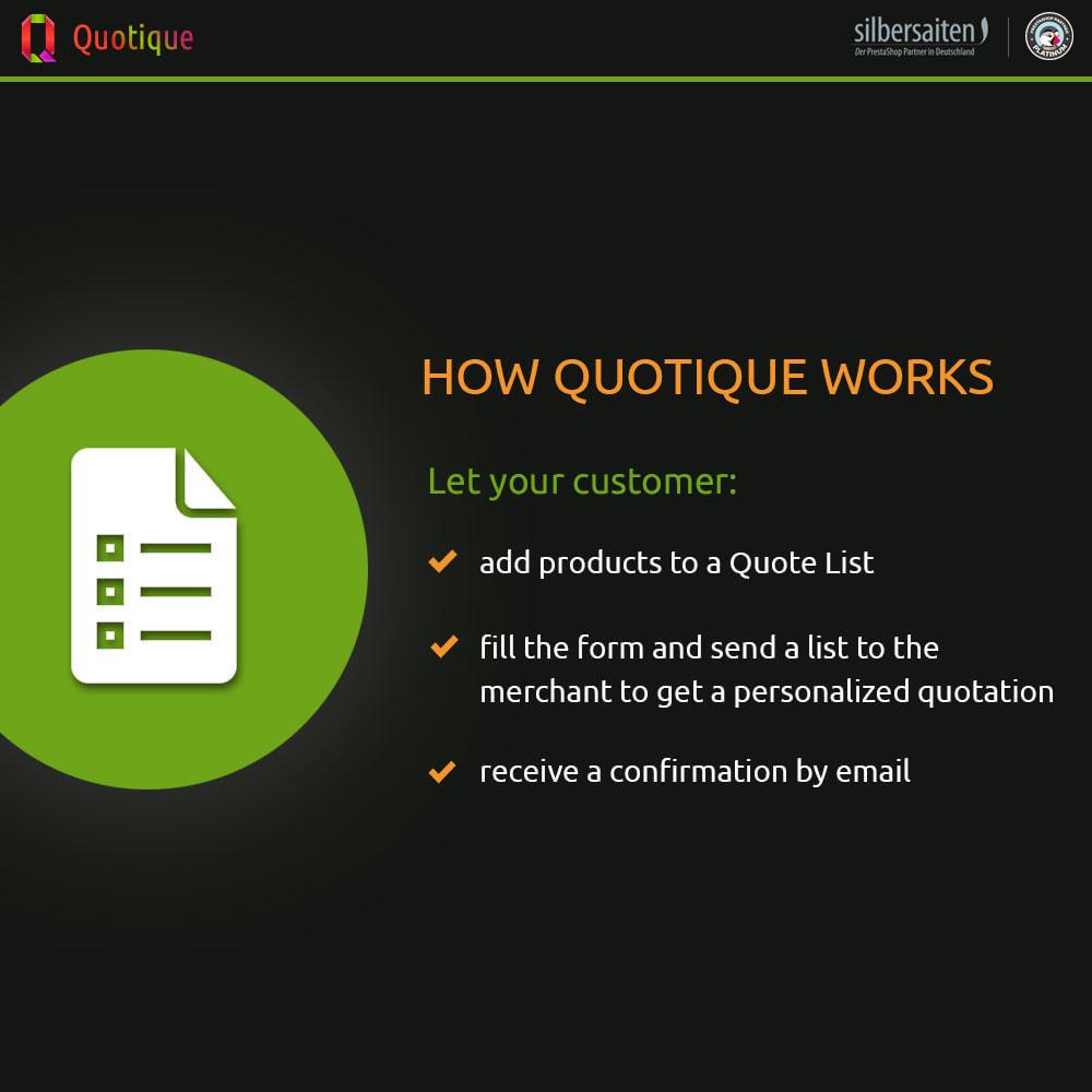 module - Расчет цены - Quotique - Request for Quotation (Quote) - 1