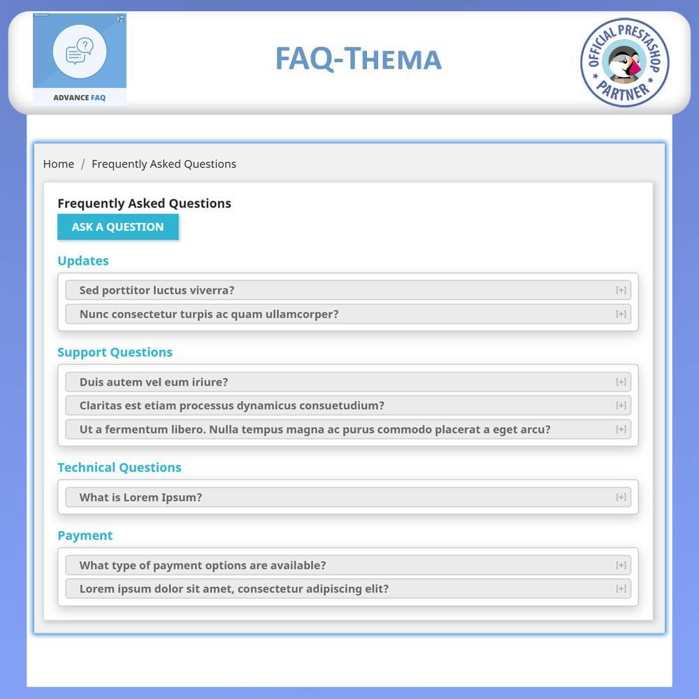 module - FAQ (Häufig gestellte Fragen) - Erweiterte FAQ - 5