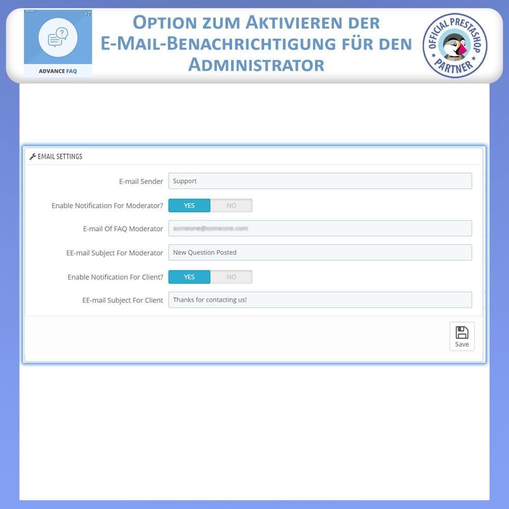 module - FAQ (Häufig gestellte Fragen) - Erweiterte FAQ - 12