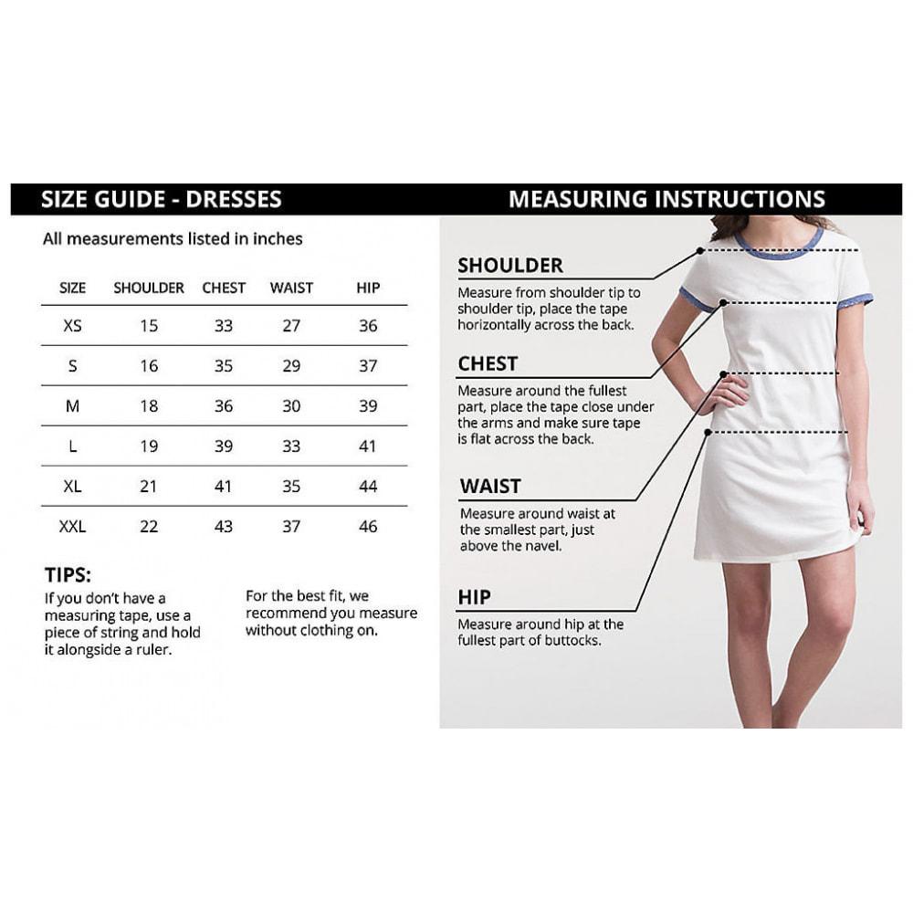 module - Altre informazioni & Product Tab - Ultimate Size Chart - 3