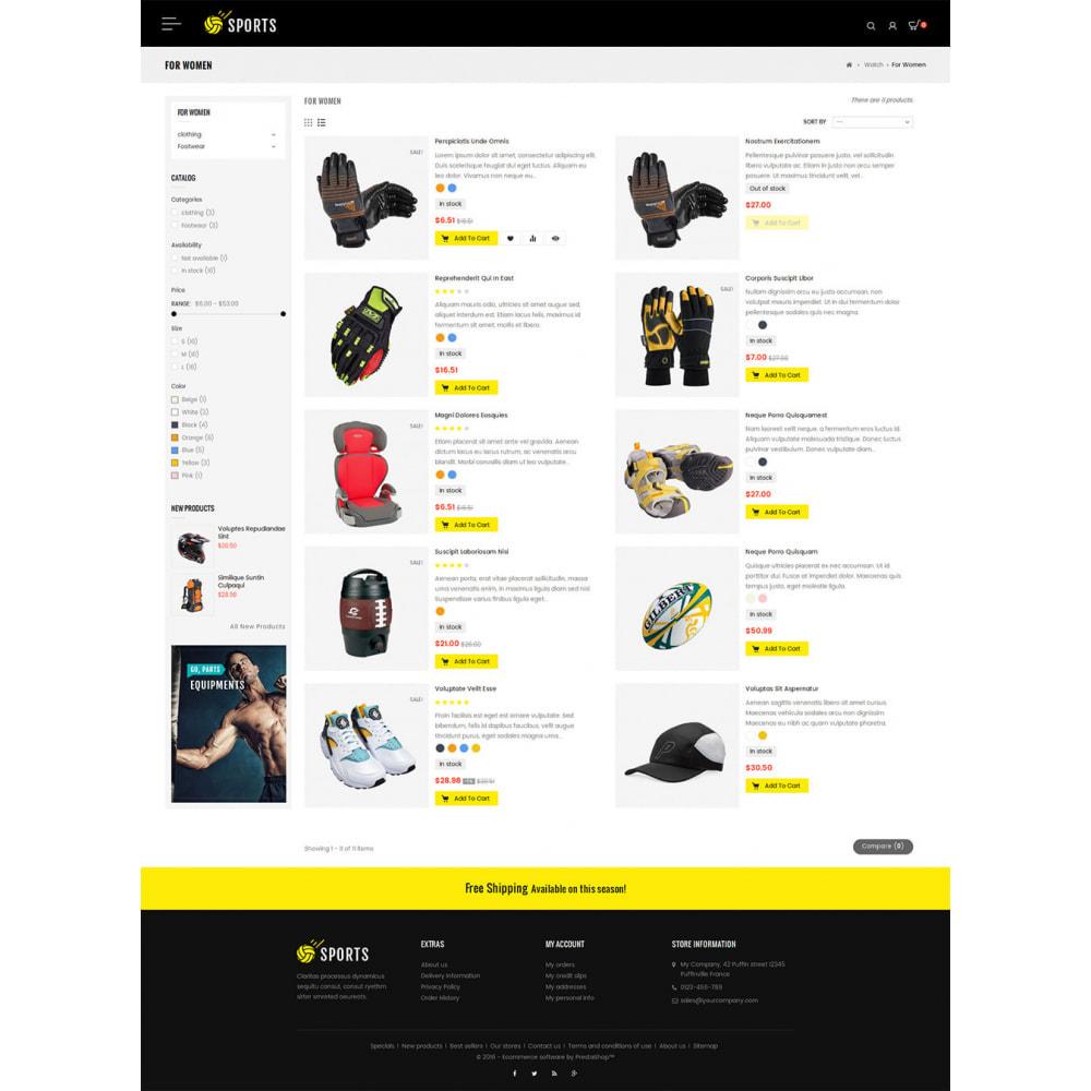 theme - Sport, Attività & Viaggi - Sports Store - 4