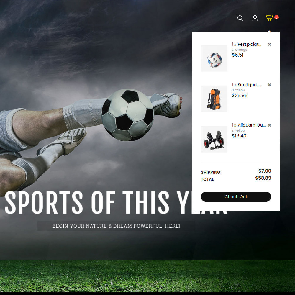 theme - Sports, Activities & Travel - Sports Store - 9