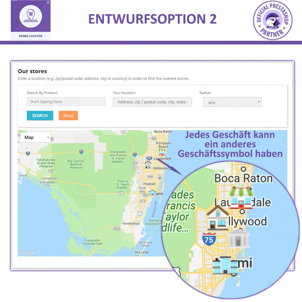 module - Internationalisierung & Lokalisierung - Shopfinder mit Google Maps - 3