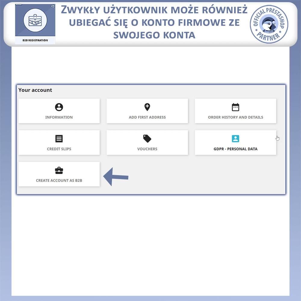 module - Procedury składania zamówień - Rejestracja B2B - 4