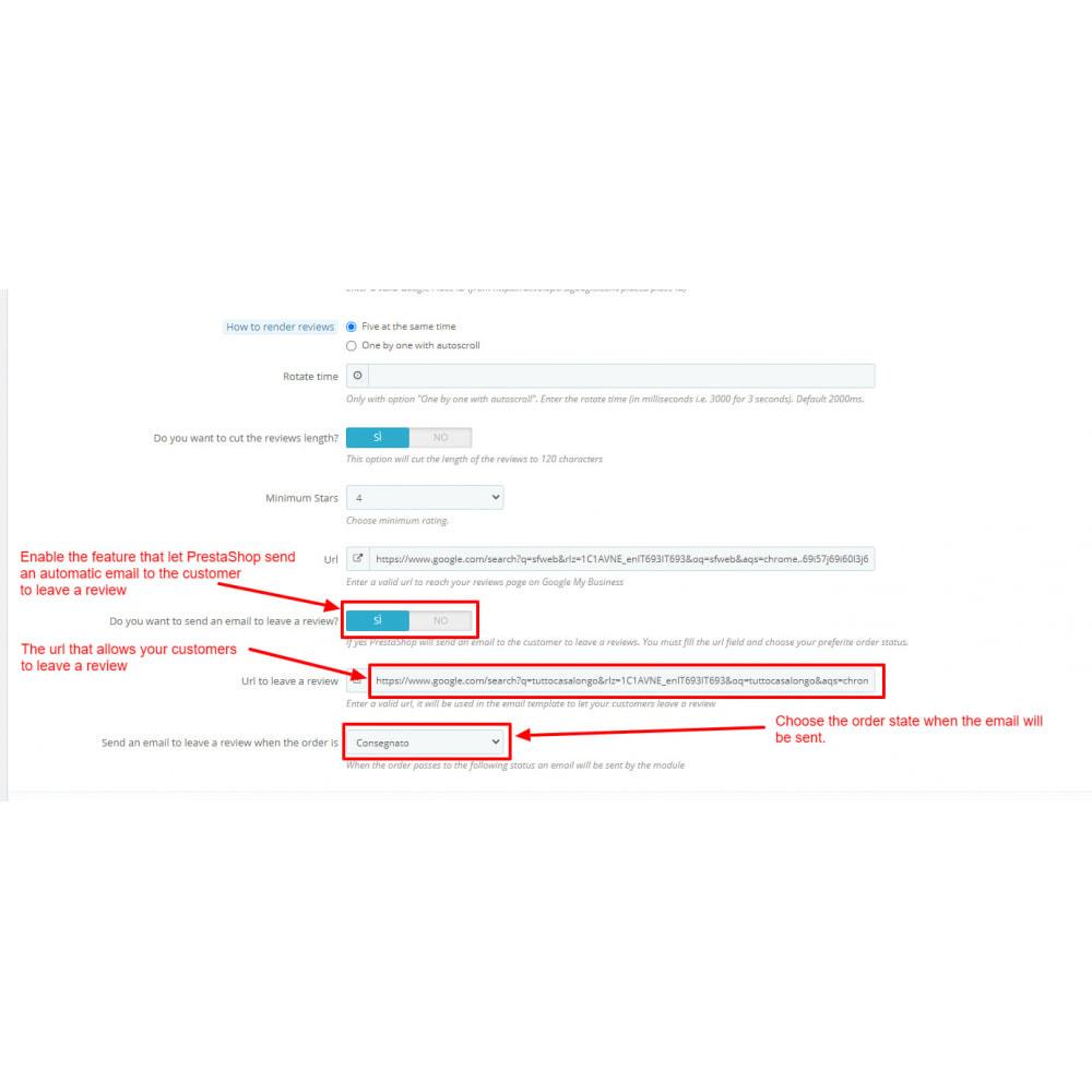 module - Klantbeoordelingen - Embed Google My Business Reviews - 10