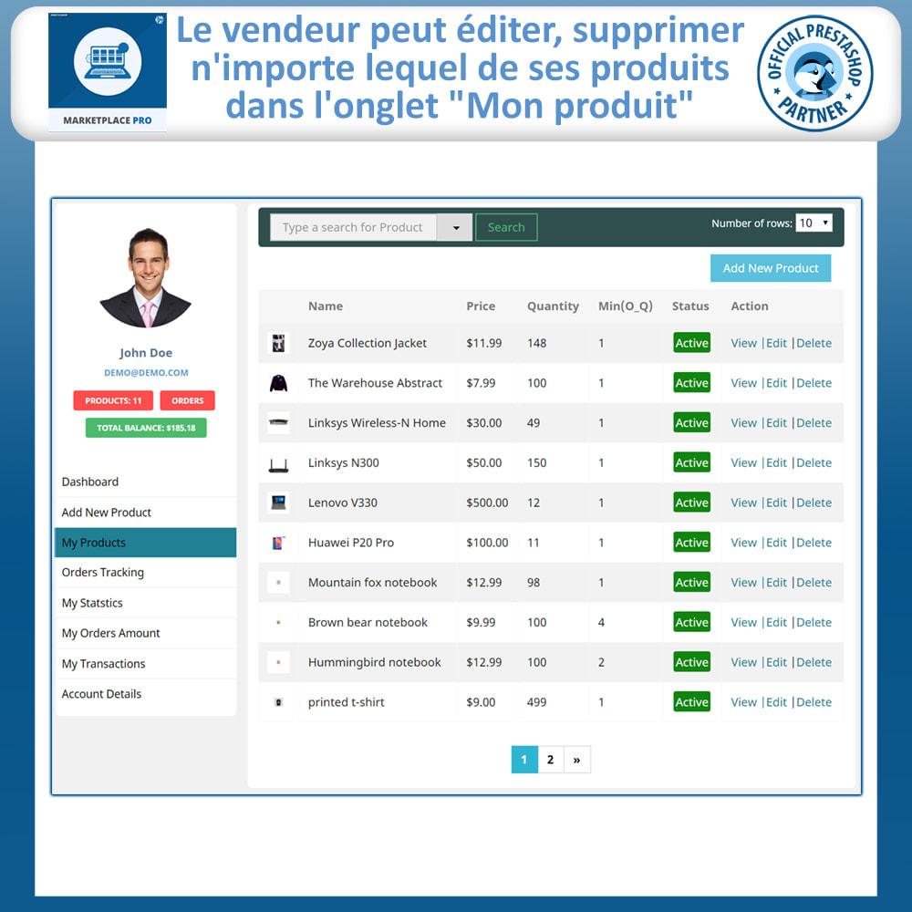 module - Création de Marketplace - Multi Vendor Marketplace  - Marketplace Pro - 14