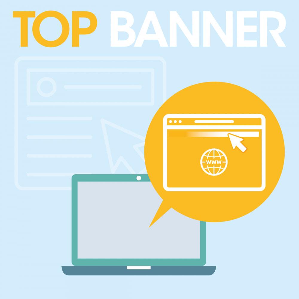 module - Bloki, Zakładki & Banery - Top banner scrolling - 1