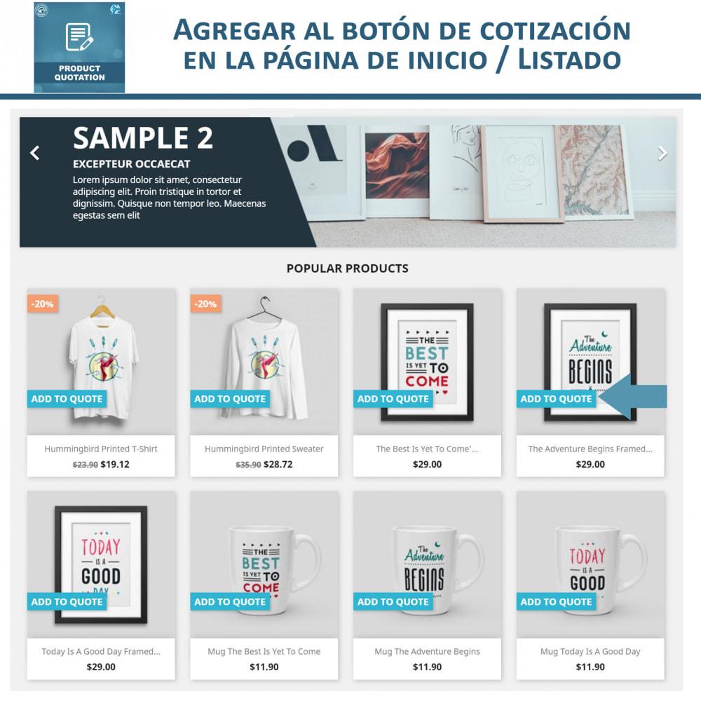 module - Presupuestos - Cotización de Producto - Permitir al Cliente Cotizar - 2