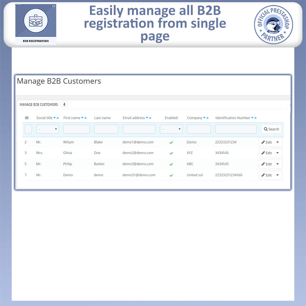 module - Registration & Ordering Process - B2B Registration - 5